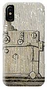 Morse Telegraph Machine, 1889 IPhone Case
