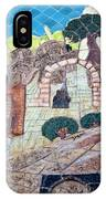 Mosaic Art At Petra IPhone Case