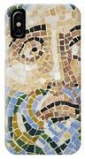 Mosaic Face Fountain Detail IPhone Case