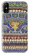 Mosaic Fountain Detail 4 IPhone Case
