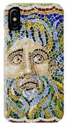 Mosaic Fountain Face View 2 IPhone Case