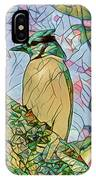 Mosaic Of Blue Jay IPhone Case