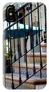 Mosaic Tile Staircase In La Quinta California Art District IPhone X Case