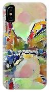 Moscow Color Rain IPhone Case