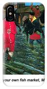 Moscow Street Of 17th Century IPhone Case