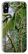 Moss At Munson Creek IPhone Case
