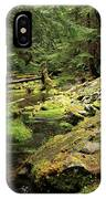 Moss By The Stream IPhone Case