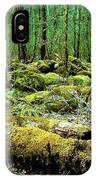 Moss Consuming The Forest IPhone Case