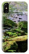 Moss Covered Boulders IPhone Case