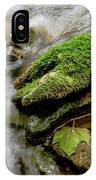 Moss Covered Rock IPhone Case