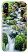 Moss Covered Stream IPhone Case