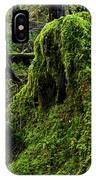 Moss Covered Tree Stump IPhone Case