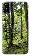Moss Forest - Ginkakuji Temple - Japan IPhone Case