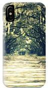 Moss Green Road IPhone Case