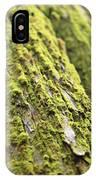 Moss On A Cedar IPhone Case