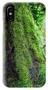 Moss On Tree IPhone Case