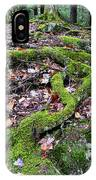 Moss Tree Roots Fall Color IPhone Case