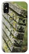 Mossy Bench IPhone Case