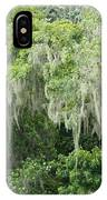 Mossy Branches IPhone Case