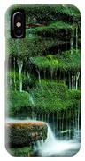 Mossy Falls - 2981 IPhone X Case