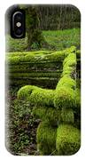 Mossy Fence 4 IPhone Case