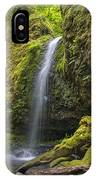 Mossy Grotto Falls In Summer IPhone Case