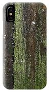 Mossy Winter Fence IPhone Case