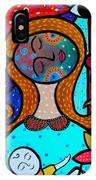 Mother And Child Vii IPhone Case