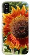 Mother And Daughter Sunflowers IPhone Case