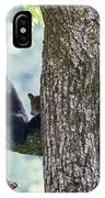 Mother Bear And Cubs IPhone Case