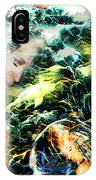 Mother Earth Sister Moon IPhone Case