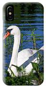 Mother Swan IPhone Case