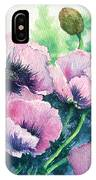Mother's Prize Poppies  IPhone Case
