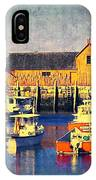 Motif No. 1 - Sunset Digital Art Oil Print IPhone Case