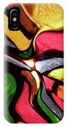 Motion And Light Abstract IPhone Case