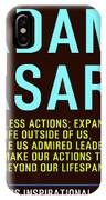 Motivational Quotes - Adam Asar IPhone Case