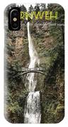 Motivational Travel Poster - Fernweh IPhone Case