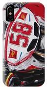 Moto Gp Simoncelli Honda 58 IPhone Case