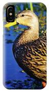 Mottled Duck IPhone Case