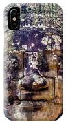 Mould Damage At Angkor Thom IPhone Case