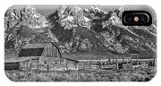 Moulton Cabin - Grand Tetons II IPhone X Case