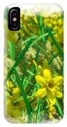 Mound Of Flowers... IPhone Case
