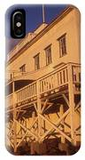 Mount Holyoke Summit House IPhone Case