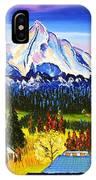 Mount Hood River Valley #1. IPhone Case