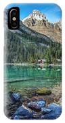 Mount Huber At Lake O'hara IPhone Case