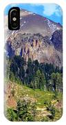 Mount Lassen Volcano IPhone Case