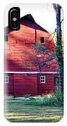 Mount Pleasant Road Barn IPhone Case