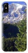 Mount Raineer 1 IPhone Case