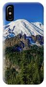 Mount Rainier - Eastside IPhone Case