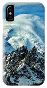 Early Snow - Mount Rainier  IPhone Case